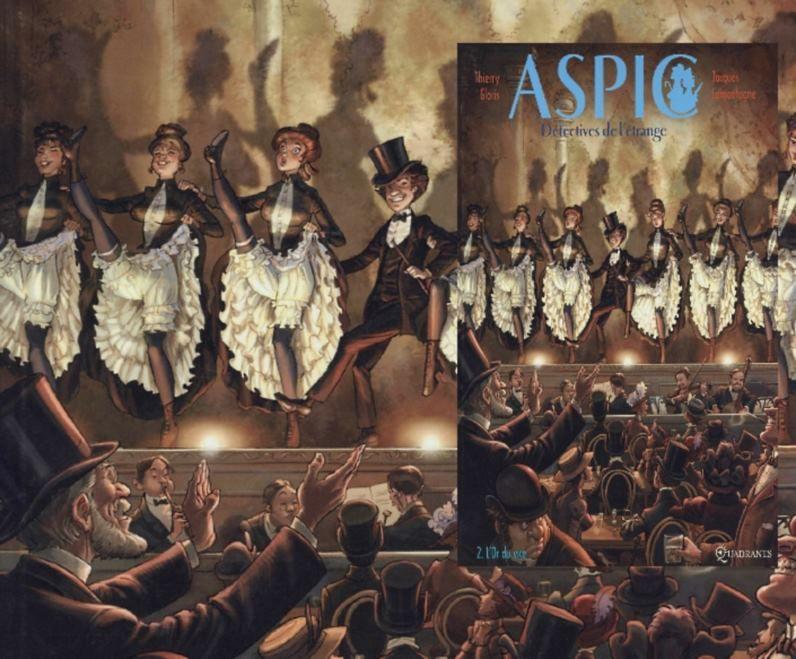 Aspic, les détectives de l'étrange, l'or du vice - Tome 2