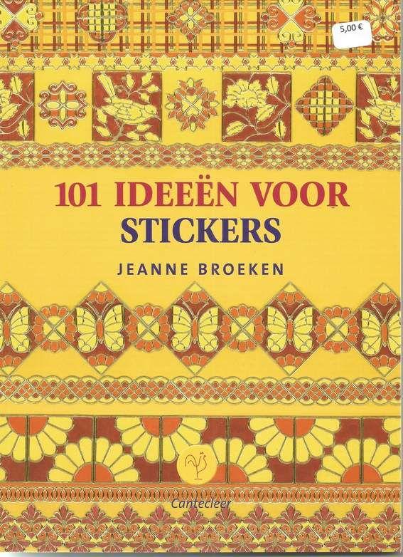 livre stickers 5 € 00