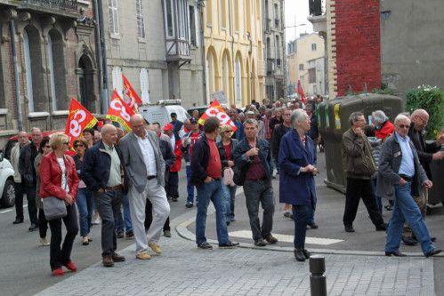 Retraités: 150 manifestants à Dieppe le 30 septembre 2014