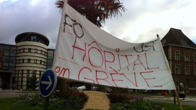 Hopital de Dieppe: appel intersyndical à la grève pour le 9 avril 2015