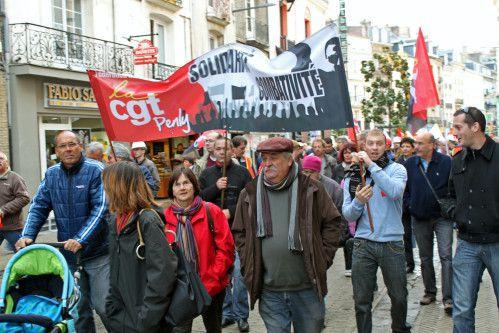 Retraite: nouvelle grosse manif à Dieppe le 28 octobre 2010