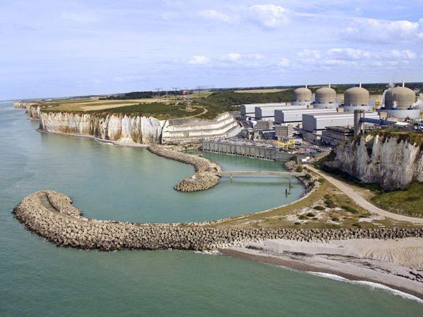 La CGT mobilisée à la centrale EDF de Paluel dans le « grand carénage »