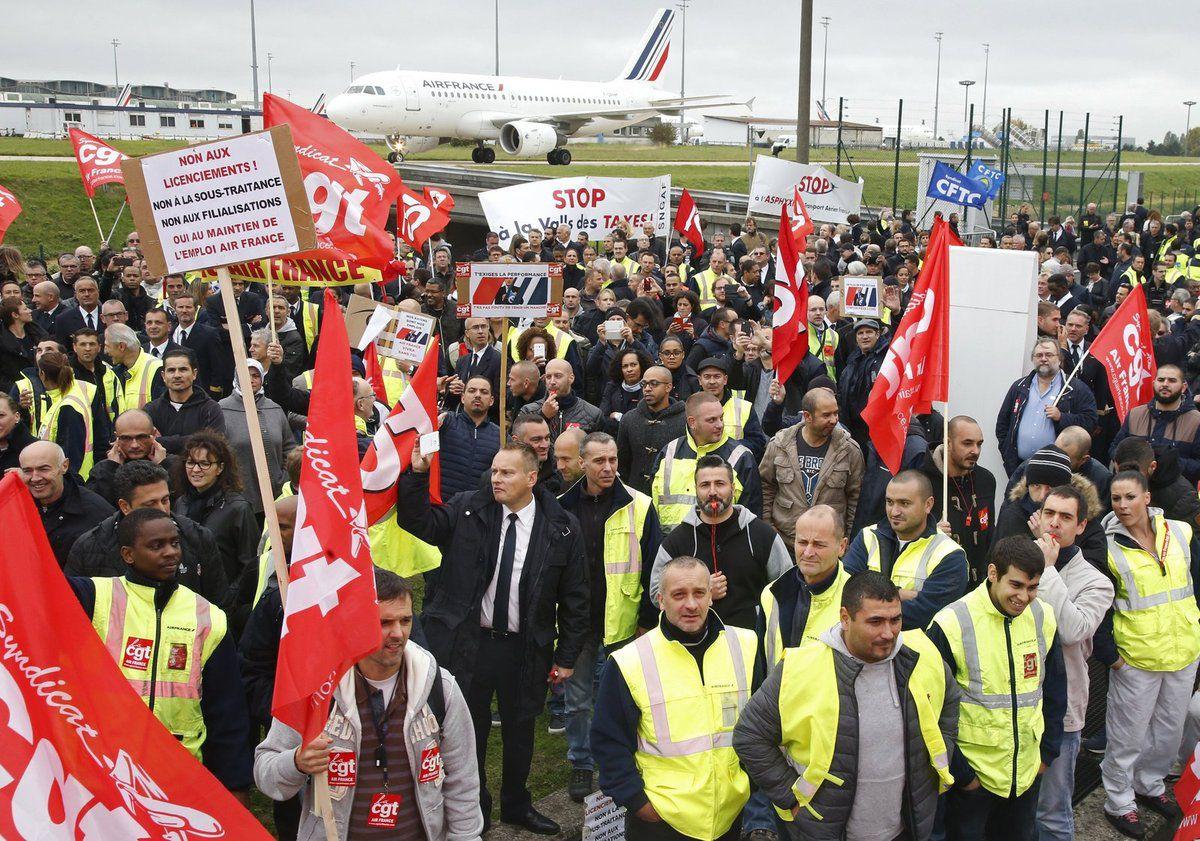 Air France&#x3B; Solidarité avec les salariés d'Air France