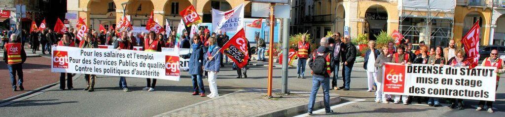 journée de mobilisation et d'actions contre la casse industrielle et des services publics