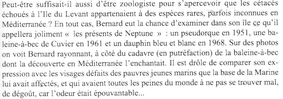 -- Cétacés échoués au Levant 1951-1968