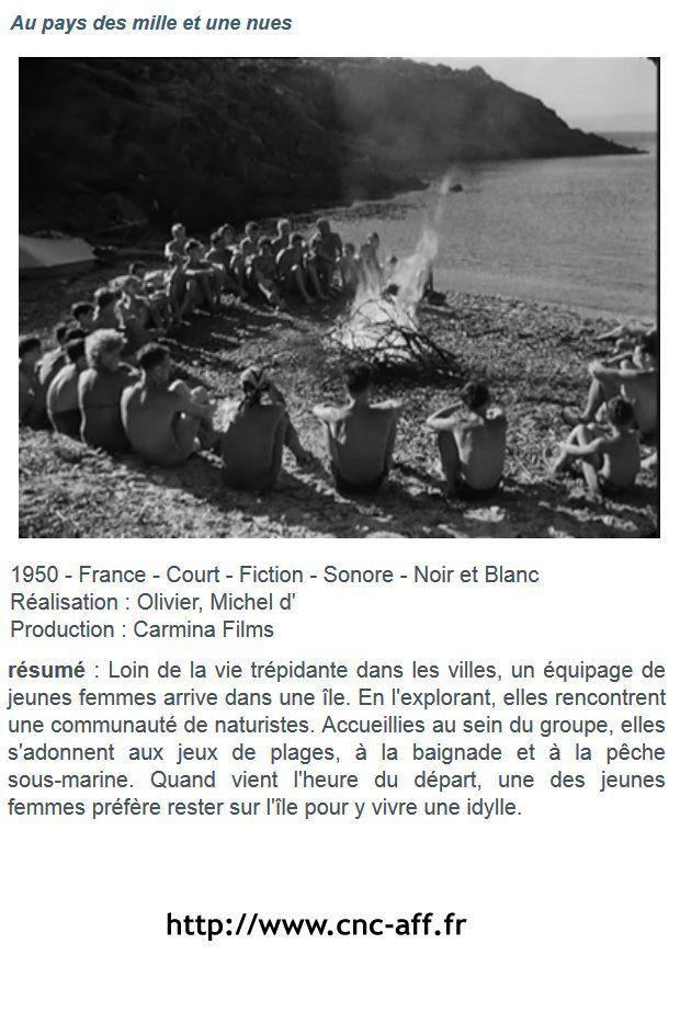 Un court métrage retrouvé sur http://www.cnc-aff.fr