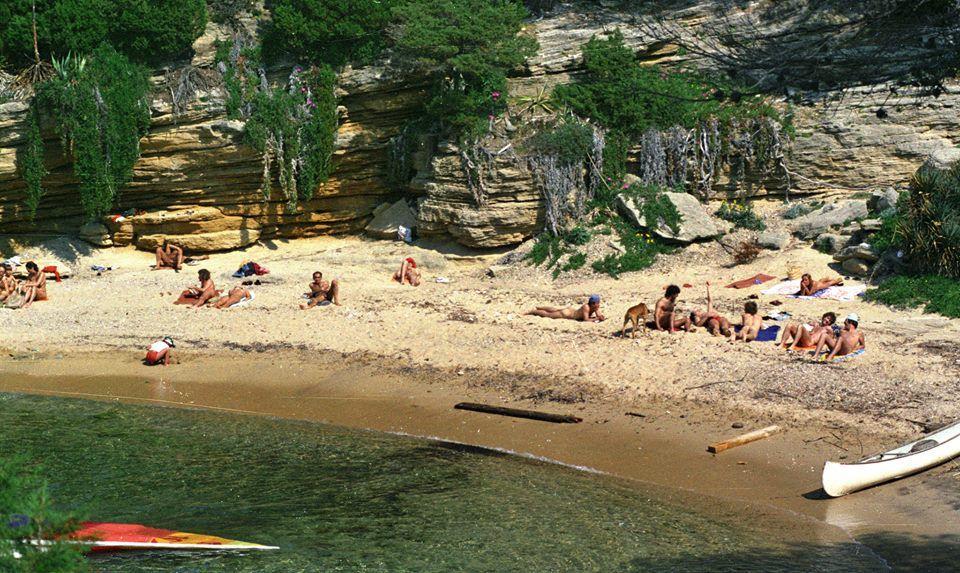 La plage des Grottes