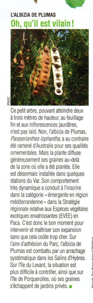 L'ATTITUDE MER n°22 Septembre 2016 - Journal du Parc national de Port Cros