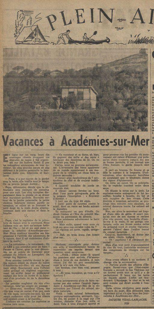 Vacances à Académies-sur-Mer 6