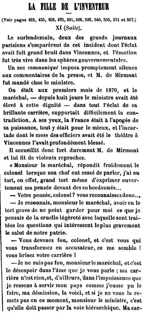 La fille de l'inventeur, un roman feuilleton de 1889 -- 12/16