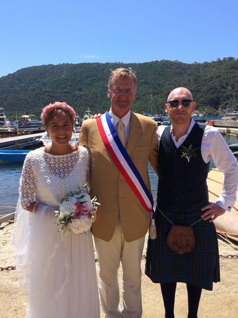 16 juin 2017 - un mariage à Port Cros