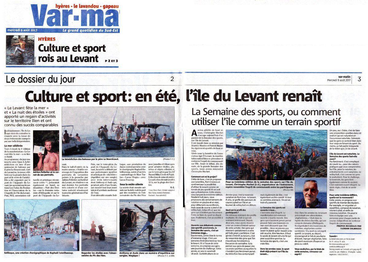 Culture et sports au Levant