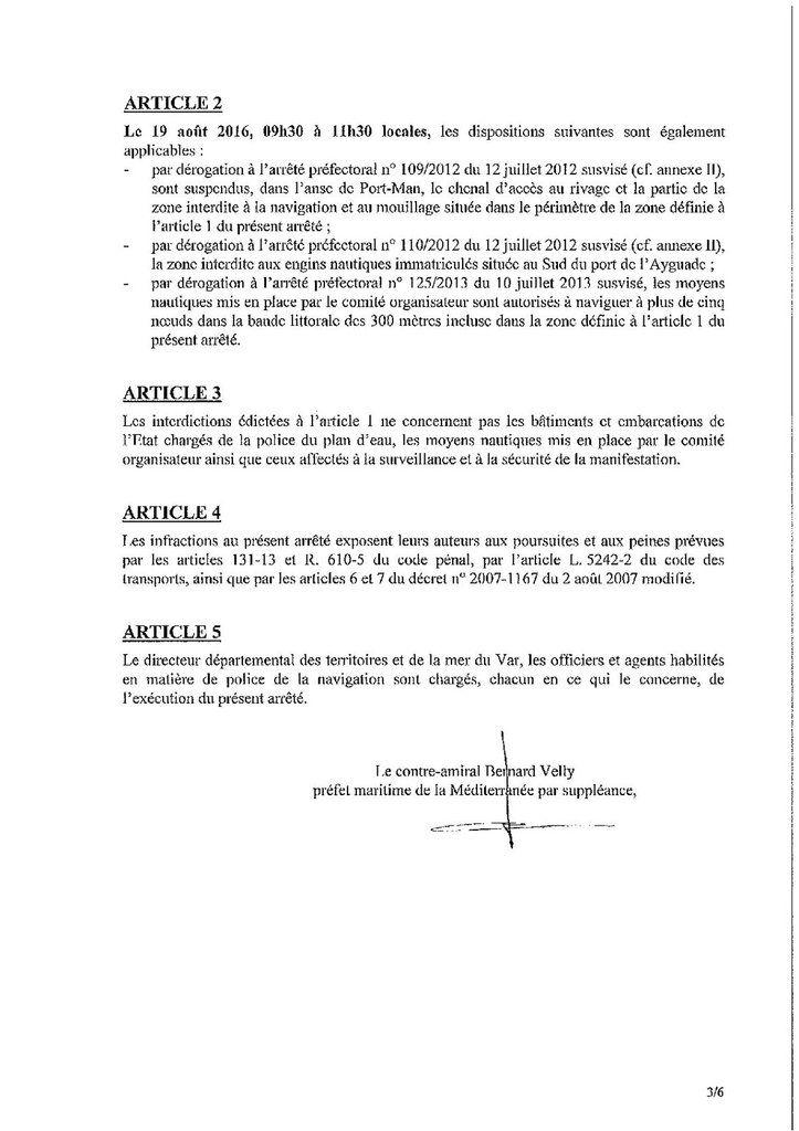Arrêté préfectoral n°237/2017 du 4 août 2017