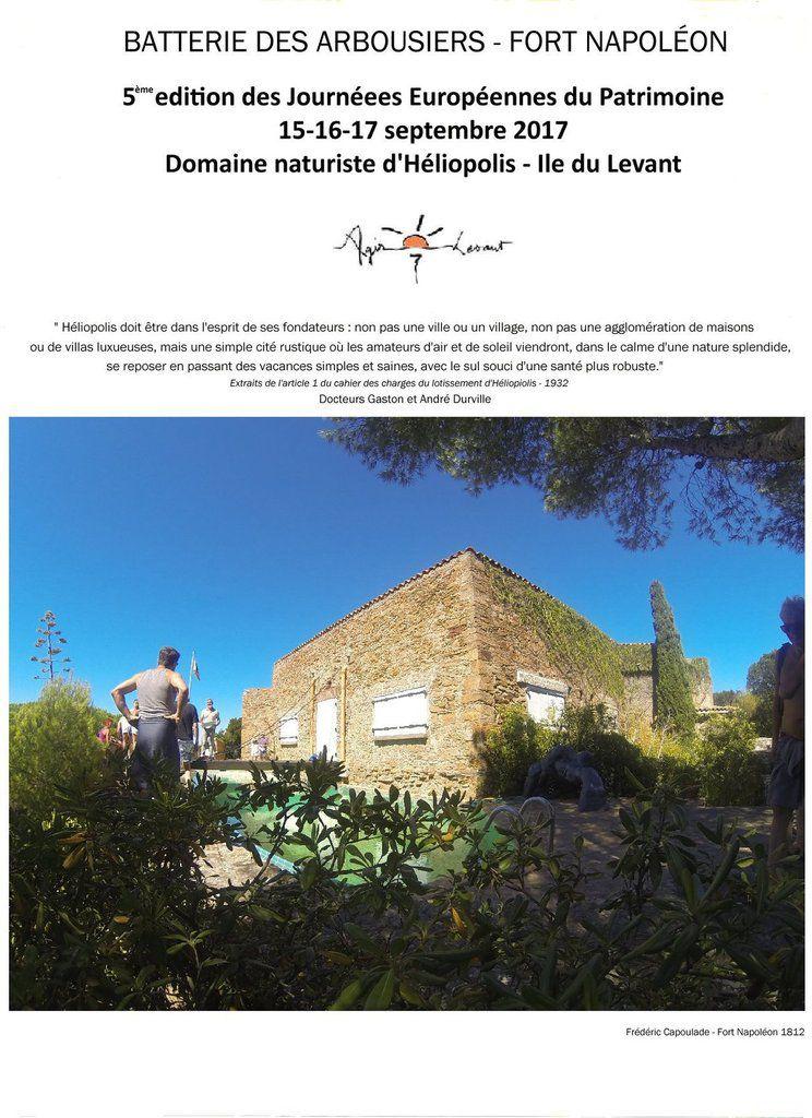 Dimanche &#x3B; Fort Napoléon