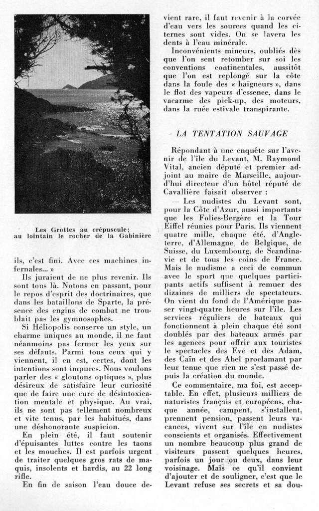 Guide 1957 : Héliopolis, village provençal 4/4