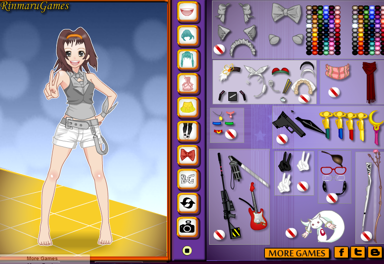 Games2girls Anime Cosplayer Dress Up