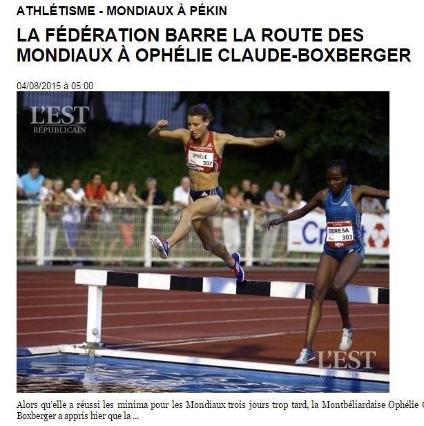Ophélie Boxberger : Ghani Yalouz , le fait du prince
