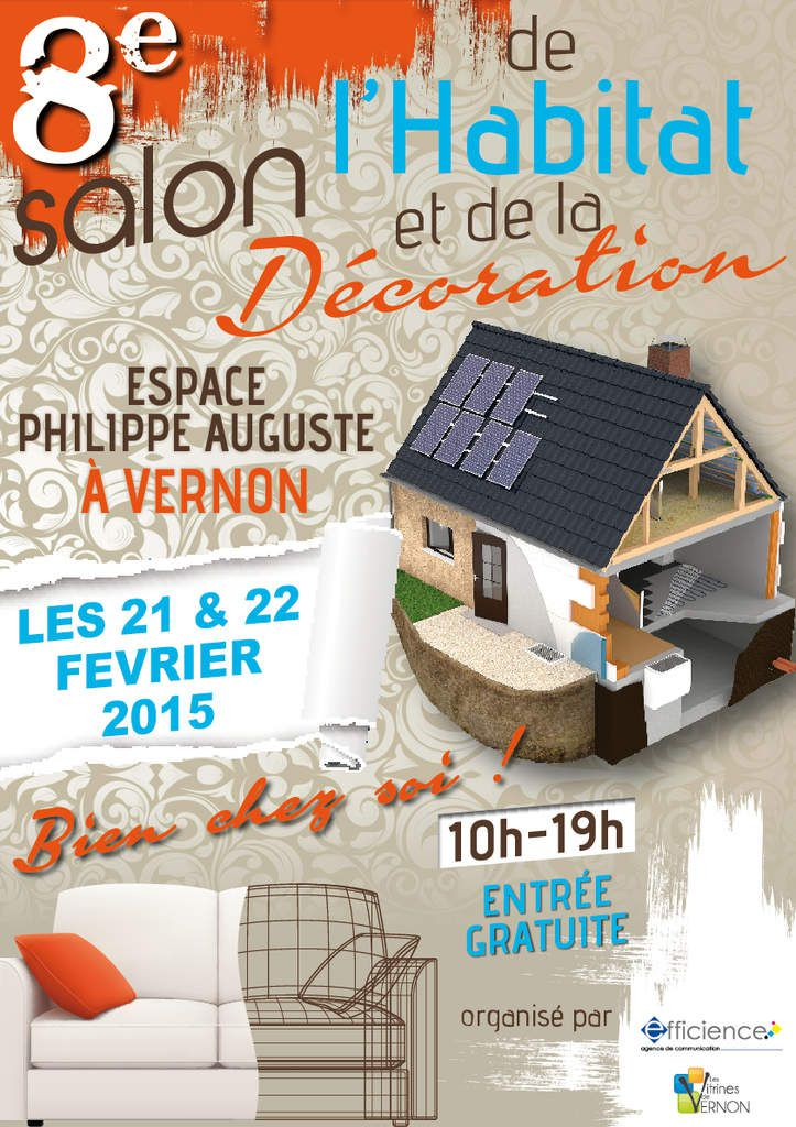 Salon de l 39 habitat de vernon f vrier 2015 le journal for Salon de l habitat brive
