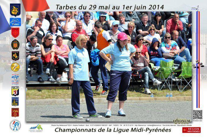 Pascale Pontac Championne de France triplette 2011 ,vice Championne de ligue 2014 vient d'intégrer le groupe en remplacement de Sophie