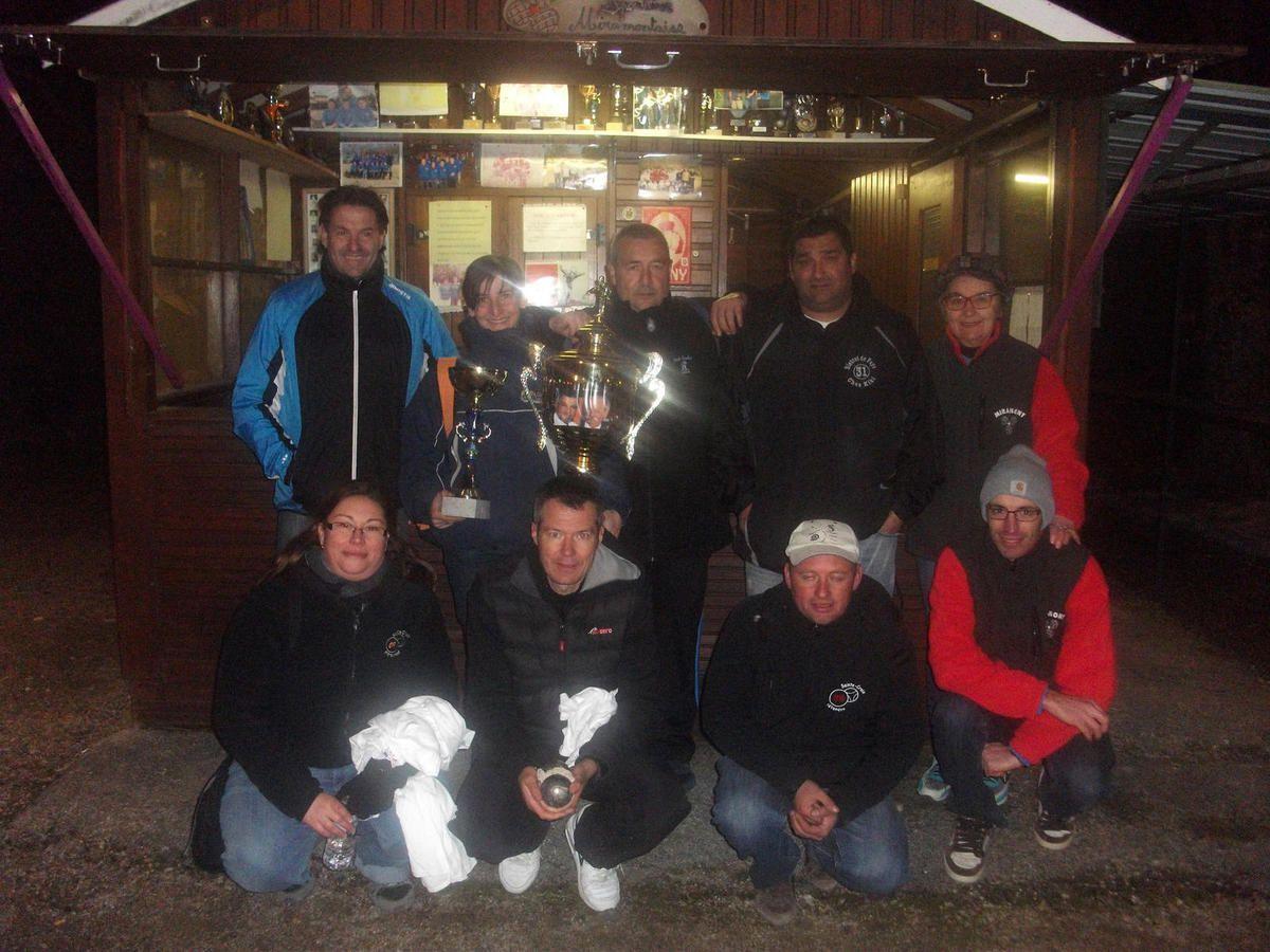 Miramont de Comminges - Cent pétanqueurs au challenge Fantuzzo/Ousset