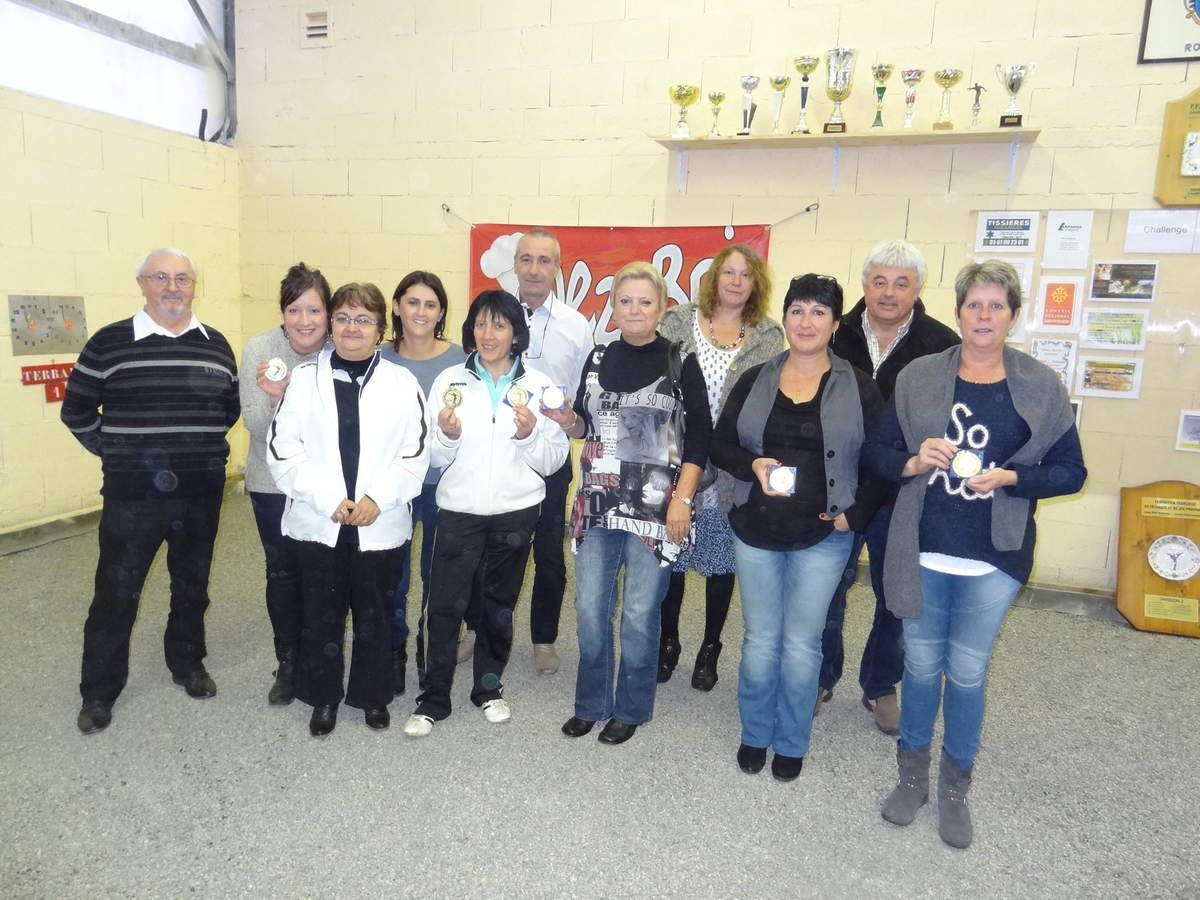 Roquefort sur Garonne (31) les féminines à la Ligue