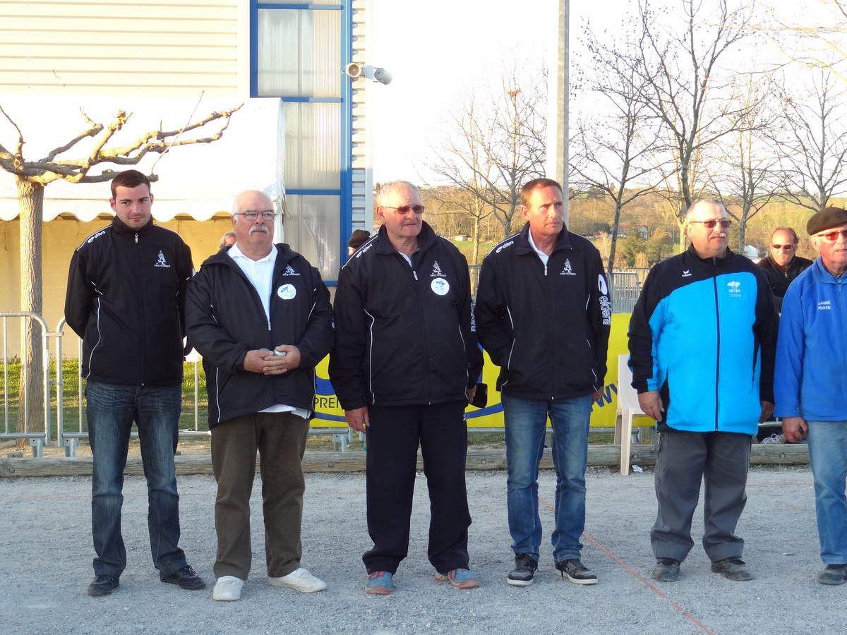 Saint-Gaudens Ligue Midi-Pyrénées Promotion Les triplettes gersoises à l'honneur