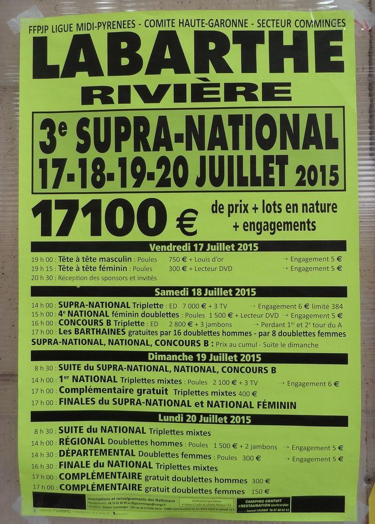 Haute-Garonne - Régionaux Supra-Nationaux et International