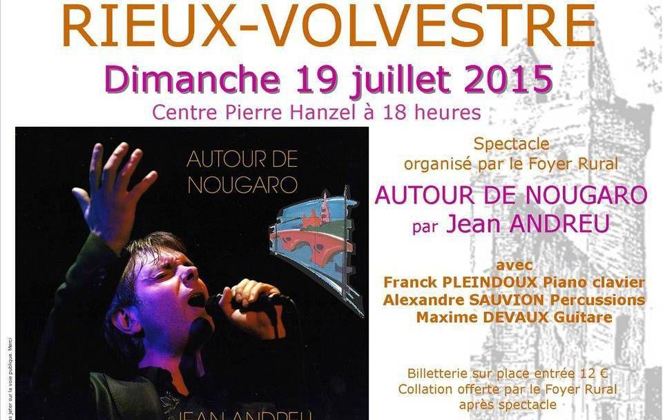 Rieux-Volvestre - Autour de Nougaro