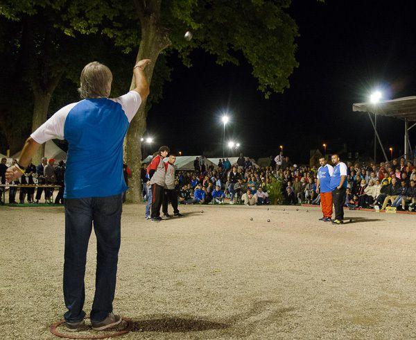 La grande finale du 4ème International de la Ville d'Espalion, les 8, 9 et 10 août 2015.