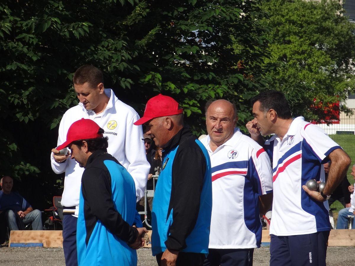 Héroïques jeunes ariégeois au championnat de France Triplettes