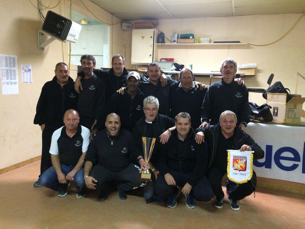 ASPET (31) accède au Championnat des Clubs National CNC 3