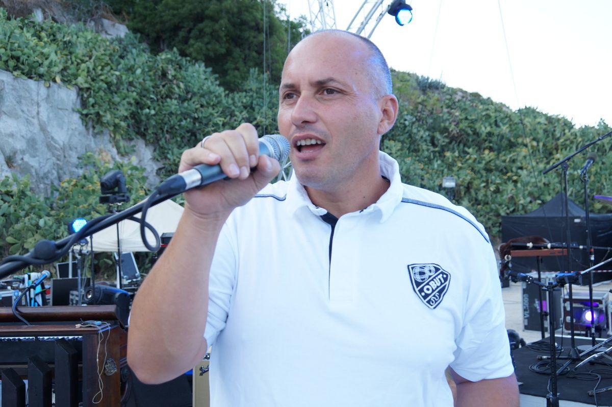 Stephane Mangiantini l'un des trois chanteurs du groupe !!!