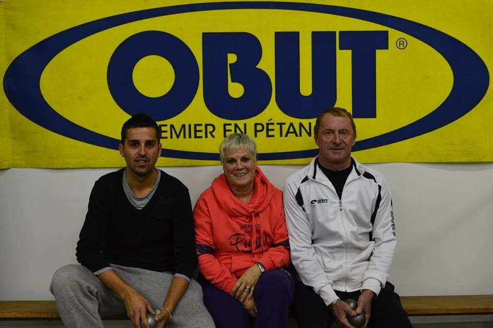 Michaël Carrere , Gabrielle Dossat, Didier Gaihard