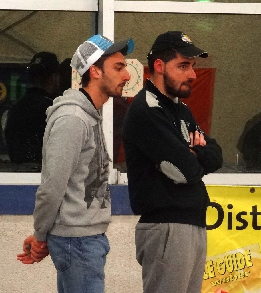 Les champions Vincent Poinsignon et Cédric Van der Heyden (Le Fousseret)