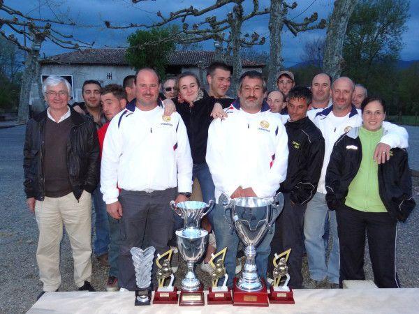 On va retrouver le Cochonnet Hissois à la Ligue pour le Promotion à Lalanne Arqué (photo Archives 2013)