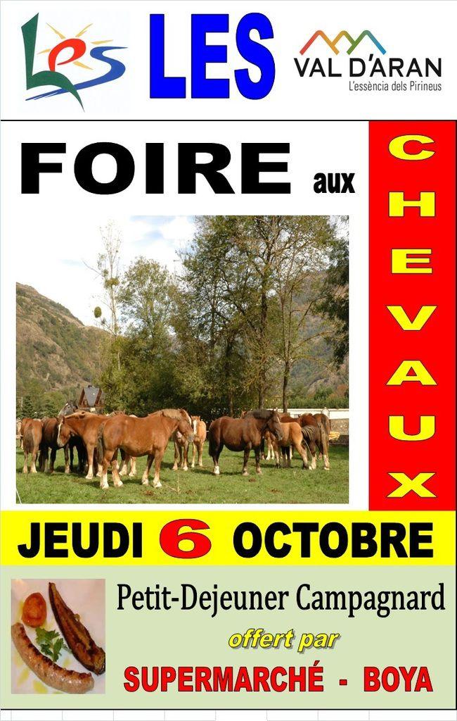 LES (Espagne) - Foire aux Chevaux