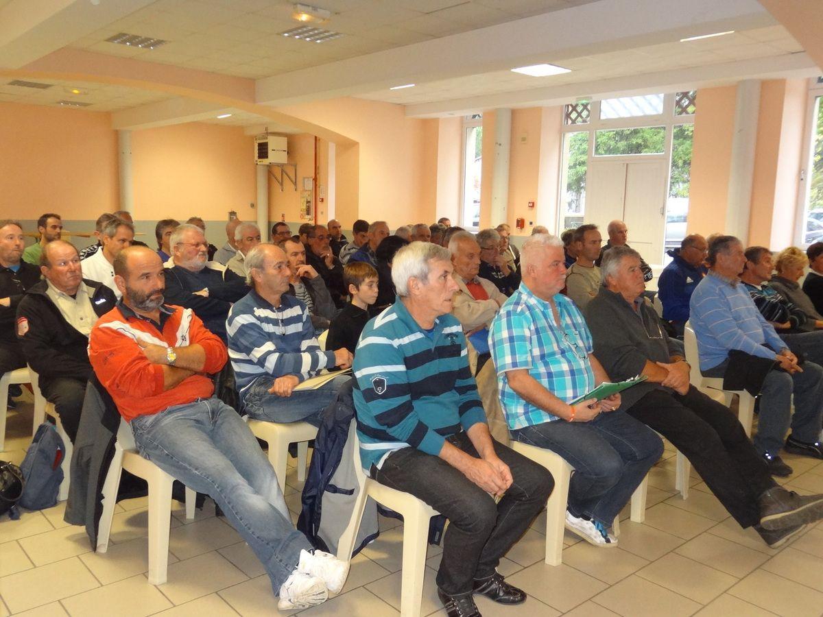 Roquefort 31 - Réunion des présidents du Comminges