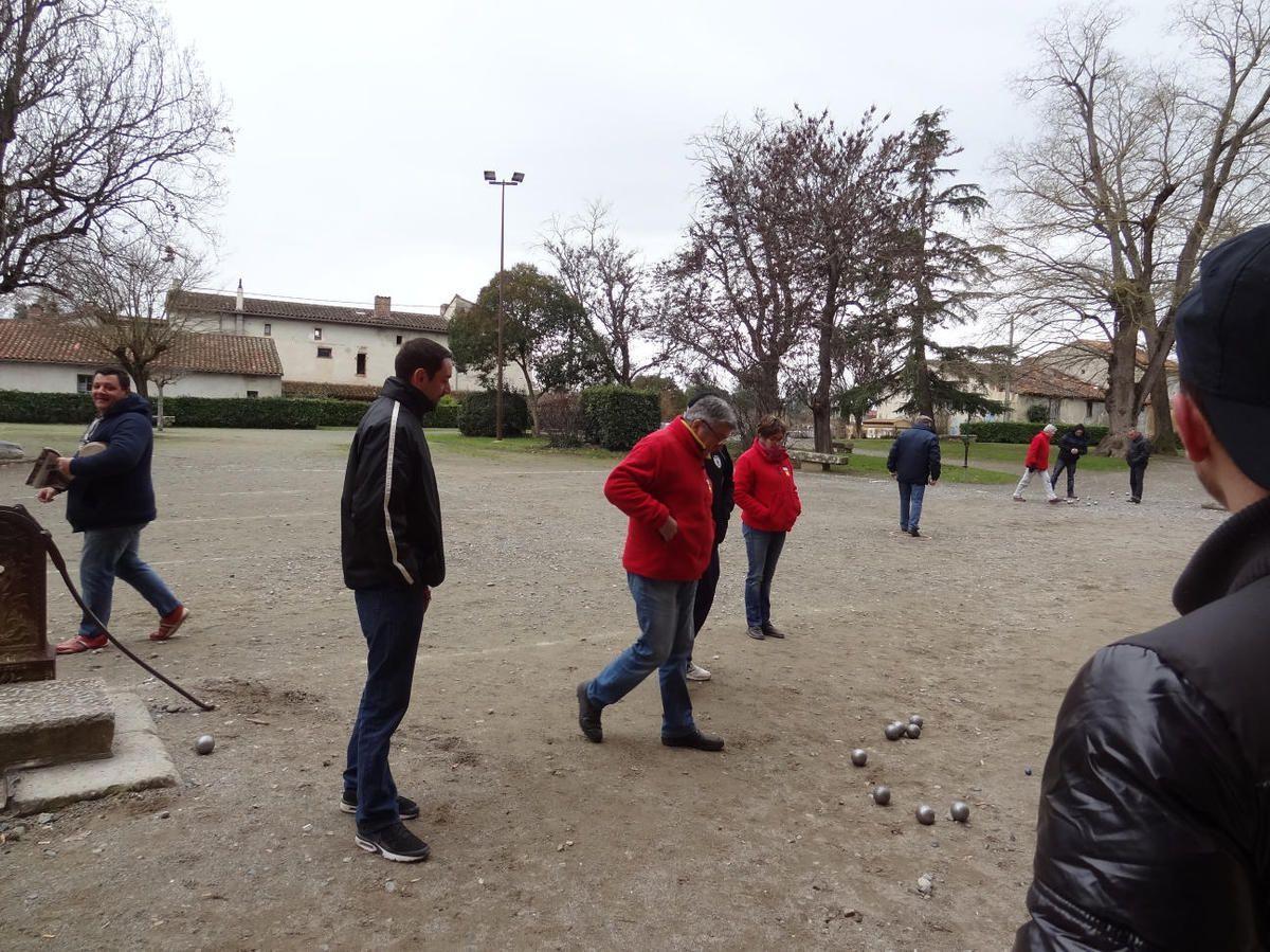 Rieux-Volvestre - 2ème tour du Championnat Haute-Garonne Triplettes Masculins