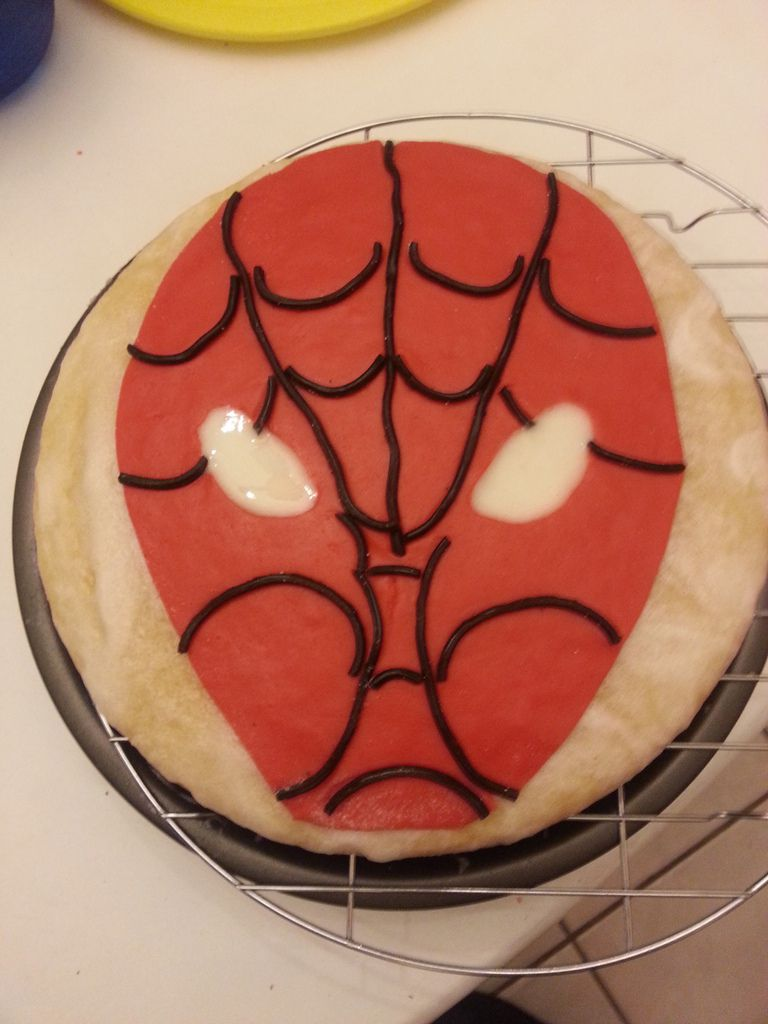 "Gâteau ""Spiderman"""