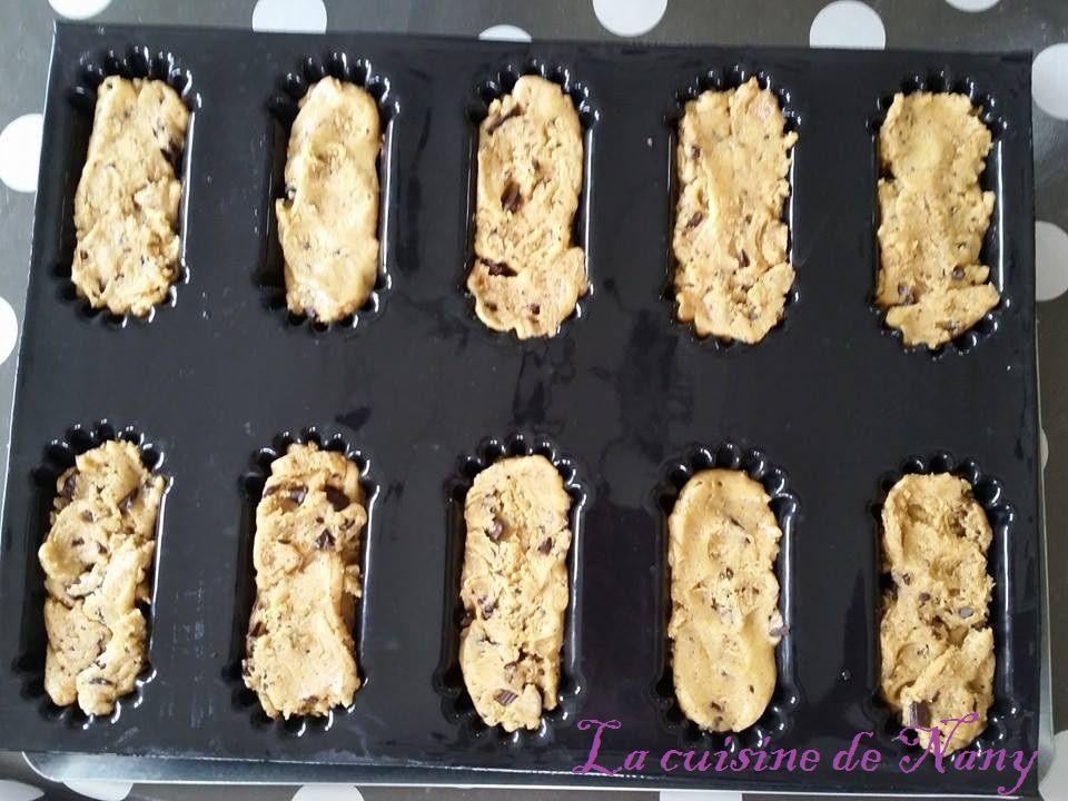 brownies recouvert de pâte à cookies