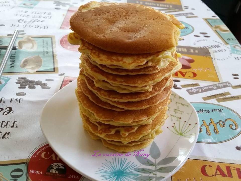 Pancakes facon C. Lignac