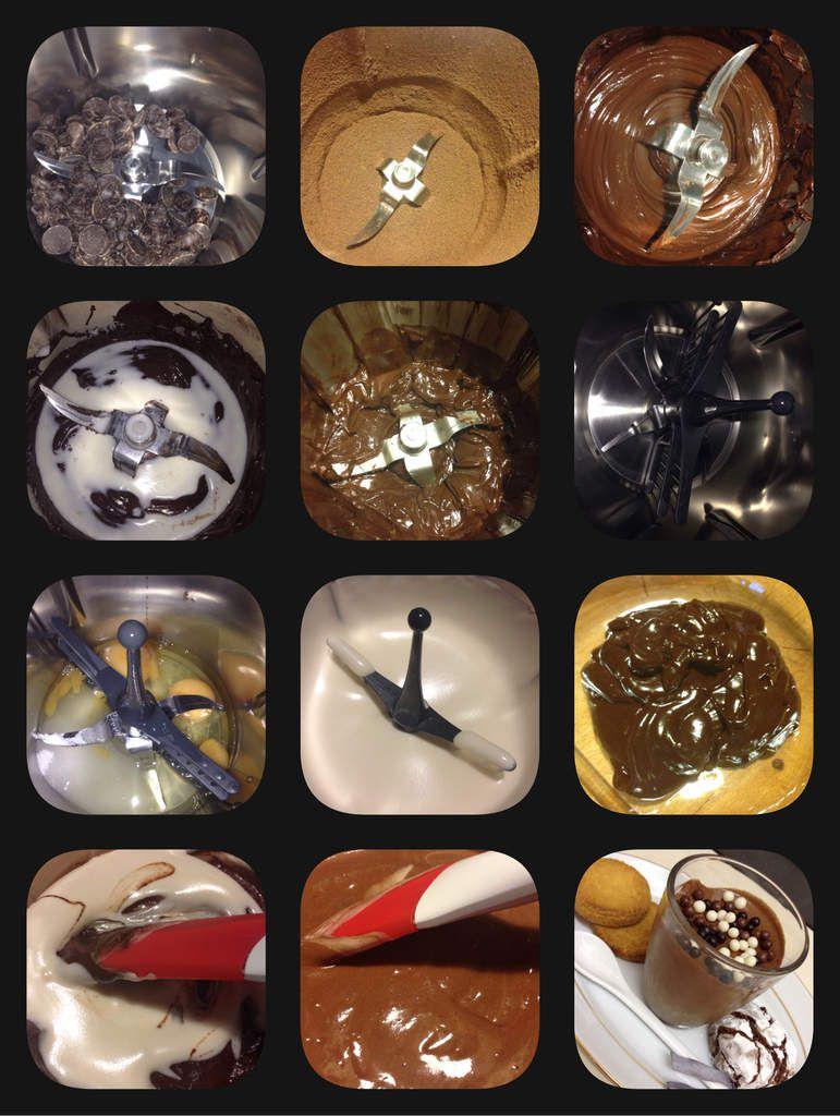 Mousse au chocolat magique