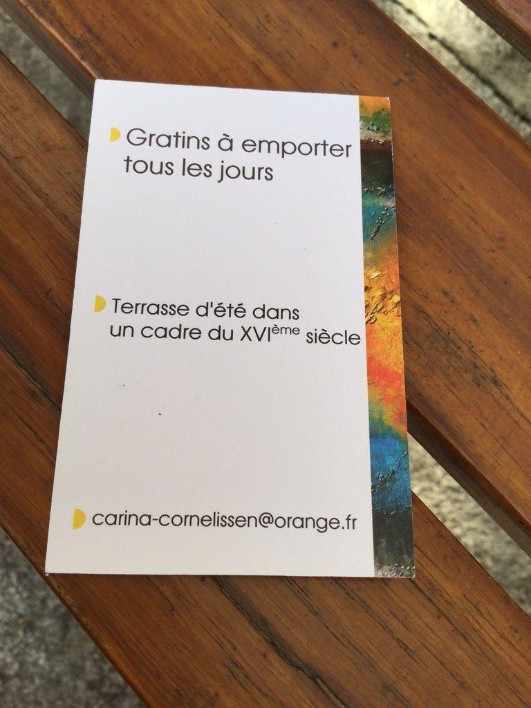"""Resto """"Aux tables des peintres"""""""
