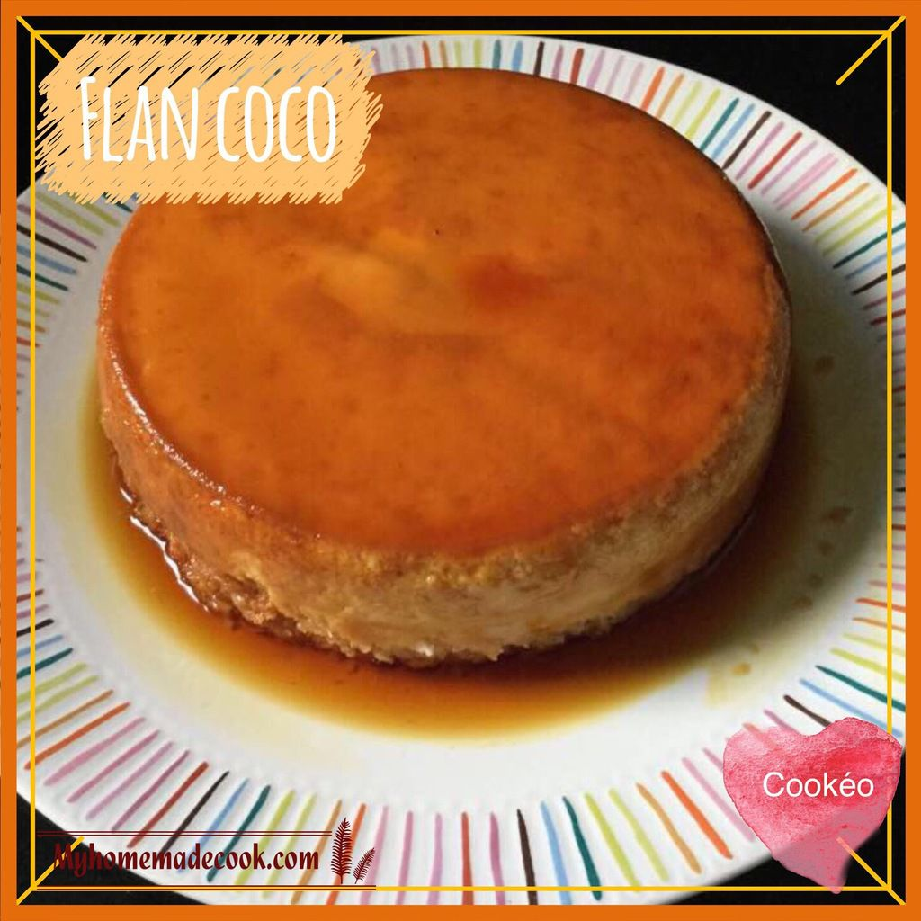 Flan coco my homemade cook - Comment acheter un thermomix ...