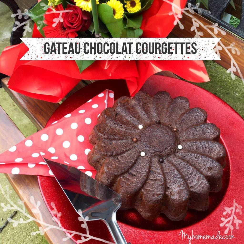 GATEAU CHOCOLAT COURGETTES