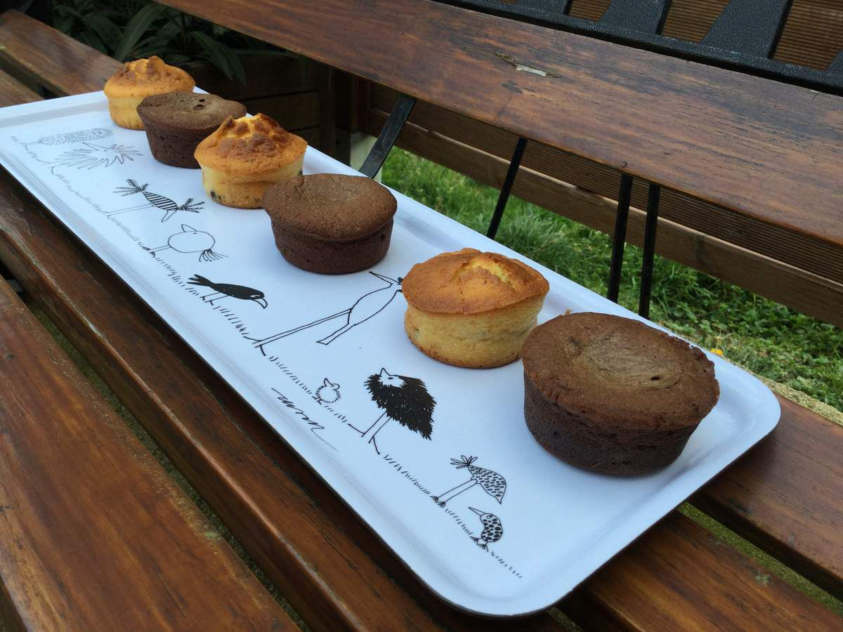 MUFFINS PEPITES CHOCOLAT  / NUTELLA