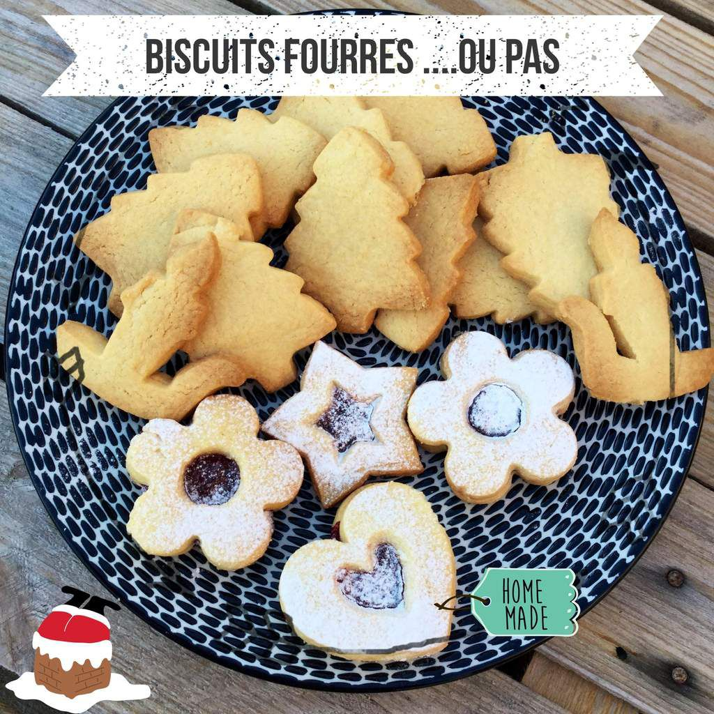 BISCUITS FOURRES '...OU PAS
