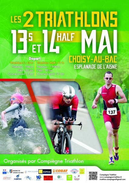 Triathlon Choisy au Bac 2017