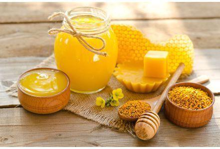 Bienfaits du miel, pollen, gelée royale