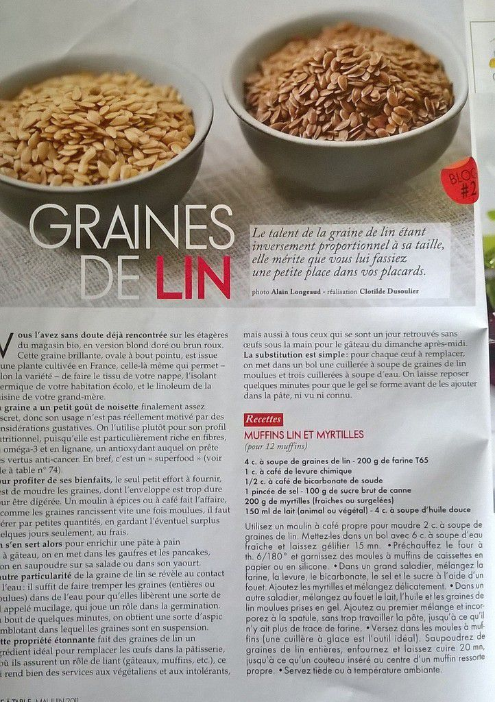Article de Elle à table